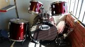 Astra Burgundy Drum Set